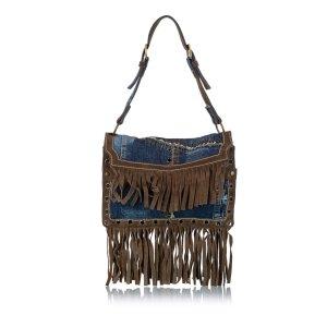 Dolce & Gabbana Shoulder Bag blue cotton