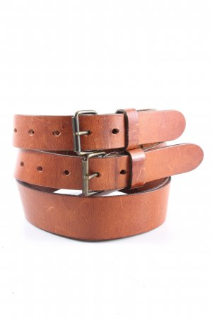 Dolce & Gabbana Double Belt brown casual look