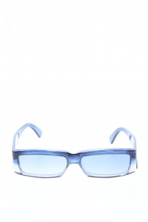 Dolce & Gabbana eckige Sonnenbrille blau Casual-Look