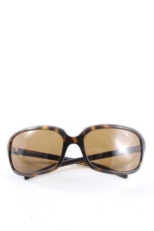Dolce & Gabbana eckige Sonnenbrille schwarz-bronzefarben Casual-Look