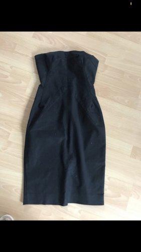 Dolce & Gabbana Vestido strapless negro