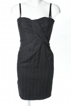 Dolce & Gabbana Etuikleid schwarz-weiß Streifenmuster Business-Look