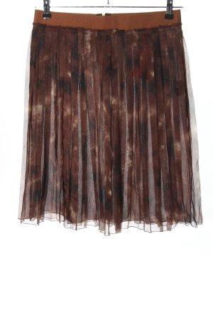 Dolce & Gabbana Falda a cuadros marrón