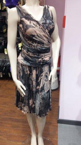 Dolce & Gabbana Chiffon Dress multicolored silk