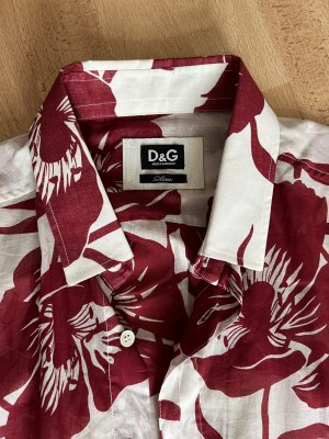 Dolce&Gabbana Flower Hemd