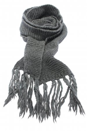 Dolce & Gabbana Fringed Scarf black cable stitch casual look