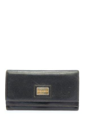 Dolce & Gabbana Geldbörse schwarz Casual-Look