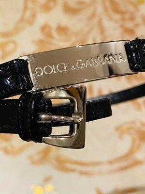 Dolce & Gabbana Waist Belt black-silver-colored