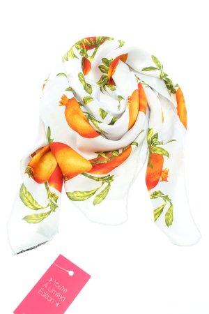 Dolce & Gabbana Halstuch weiß-hellorange Allover-Druck Casual-Look