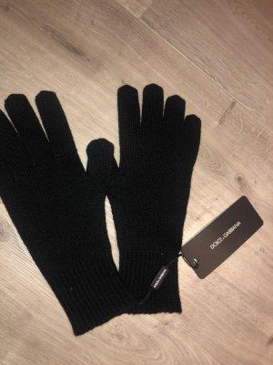 Dolce & Gabbana Guanto con dita nero