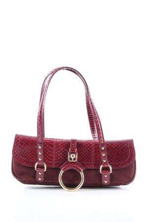 Dolce & Gabbana Handtasche rot Animalmuster Casual-Look