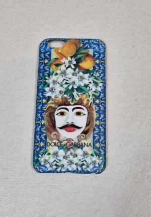 Dolce & Gabbana Mobile Phone Case light blue mixture fibre