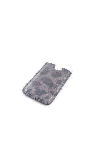 Dolce & Gabbana Hoesje voor mobiele telefoons zwart-grijs dierenprint elegant