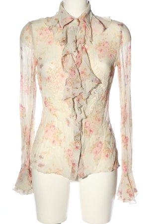 Dolce & Gabbana Hemd-Bluse abstraktes Muster Elegant