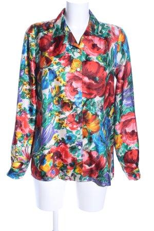 Dolce & Gabbana Hemd-Bluse Allover-Druck Elegant