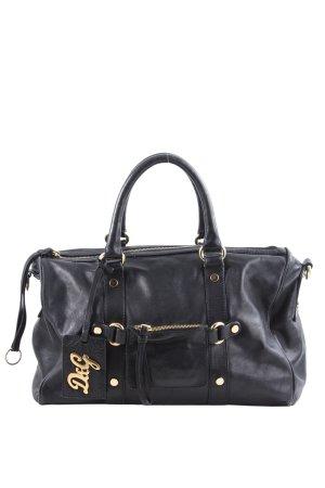 Dolce & Gabbana Borsa con manico nero Stampa a tema stile casual