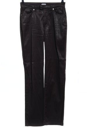 Dolce & Gabbana Hoge taille broek zwart casual uitstraling