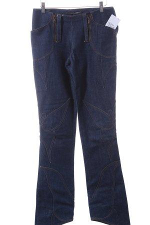 Dolce & Gabbana Hoge taille jeans blauw Jaren 70 stijl