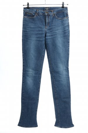 Dolce & Gabbana Jeansy z wysokim stanem niebieski W stylu casual