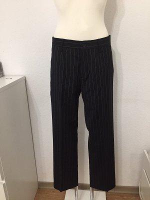 Dolce & Gabbana Pantalón de pinza negro-blanco