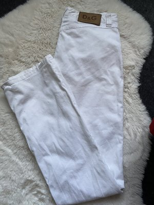 Dolce & Gabbana Jersey Pants white