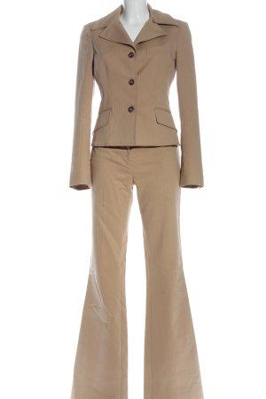 Dolce & Gabbana Traje de pantalón nude estampado a rayas estilo «business»
