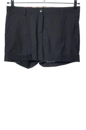 Dolce & Gabbana Hot Pants blau-rot Allover-Druck Casual-Look