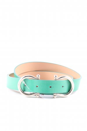 Dolce & Gabbana Hip Belt turquoise casual look