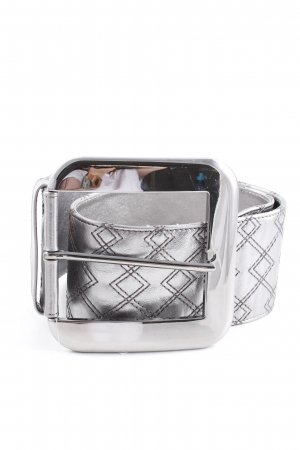 Dolce & Gabbana Hip Belt silver-colored extravagant style