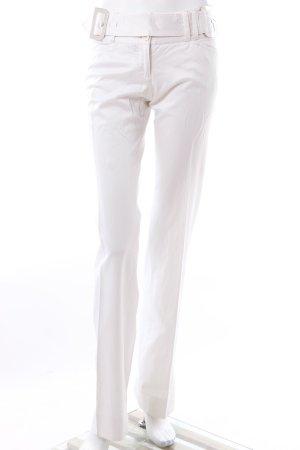 Dolce & Gabbana Lage taille broek wit