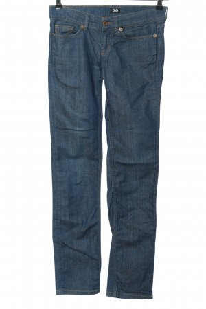 """Dolce & Gabbana Jeans vita bassa """"Girly"""" blu"""