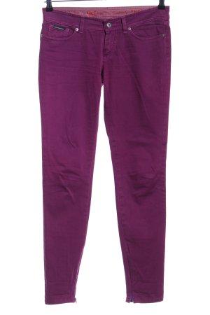 Dolce & Gabbana Vaquero hipster lila look casual