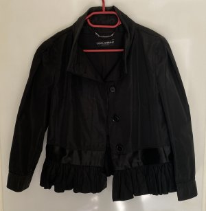 Dolce & Gabbana Chaqueta tipo blusa negro