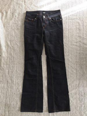 Dolce & Gabbana Jeans a gamba dritta nero-antracite