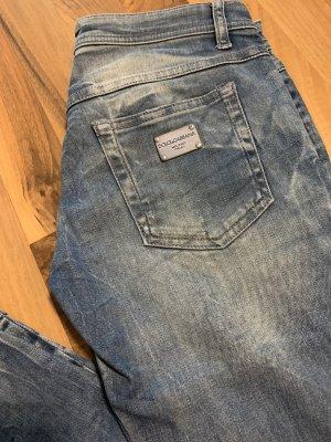 Dolce & Gabbana Tube jeans blauw