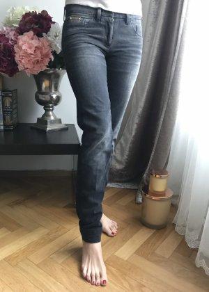 Dolce & Gabbana Jeansy o obcisłym kroju ciemnoszary