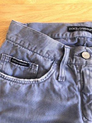 Dolce & Gabbana Jeansy z prostymi nogawkami szary