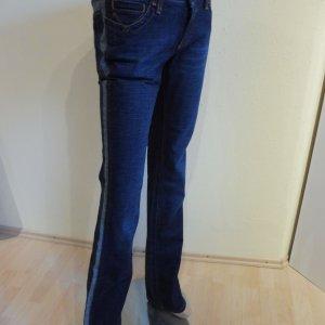 Dolce & Gabbana Jeansy z prostymi nogawkami ciemnoniebieski-jasnoniebieski