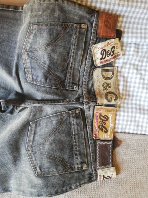 Dolce & Gabbana Boot Cut Jeans black