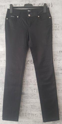 Dolce & Gabbana Jeansy z prostymi nogawkami czarny