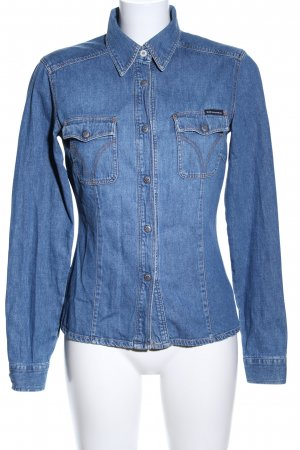 Dolce & Gabbana Denim Shirt blue casual look