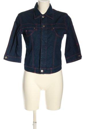 Dolce & Gabbana Veste en jean bleu style décontracté