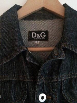 Dolce & Gabbana Jeansowa kurtka czarny Bawełna