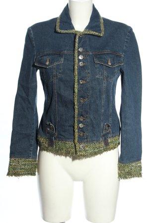 Dolce & Gabbana Veste en jean motif rayé style décontracté