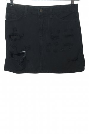 Dolce & Gabbana Gonna di jeans nero stile casual