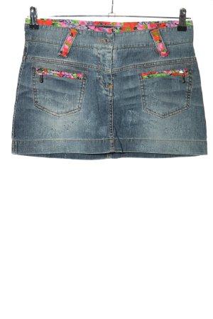 Dolce & Gabbana Gonna di jeans motivo astratto stile casual