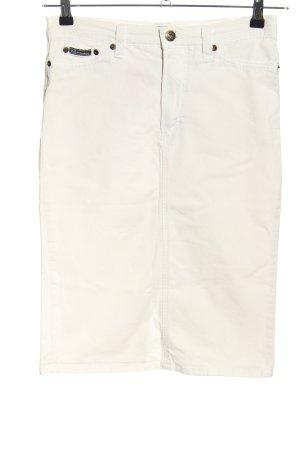 Dolce & Gabbana Jeansowa spódnica biały W stylu casual