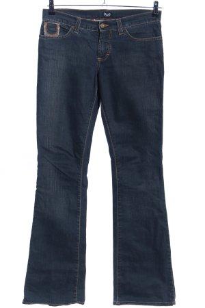 Dolce & Gabbana Jeans flare bleu style décontracté