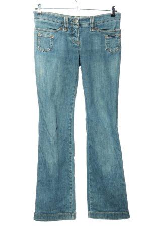 Dolce & Gabbana Jeansschlaghose blau Casual-Look