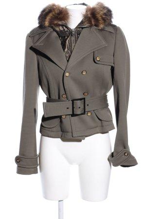 Dolce & Gabbana Kapuzenjacke khaki-bronzefarben Business-Look